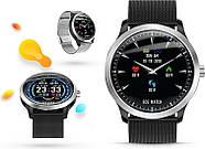 Умные часы Lemfo N58 Metal с измерением давления и ЭКГ (Черный), фото 3