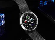 Умные часы Lemfo N58 Metal с измерением давления и ЭКГ (Черный), фото 4