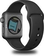 Умные часы Lemfo LF07 (DM09) со слотом под SIM карту (Черный), фото 3