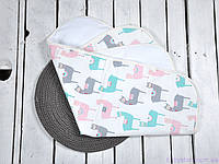 Пеленка непромокаемая для детей (размер 60*80 см), Альпака, фото 1
