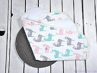 Пелюшка непромокаємий для дітей (розмір 60*80 см), Альпака, фото 1