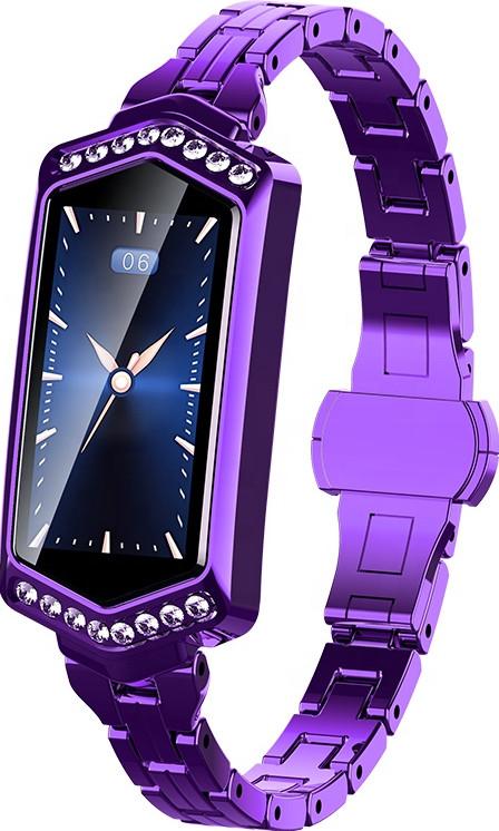 Умный фитнес браслет Finow B78 с цветным дисплеем и тонометром (Фиолетовый)