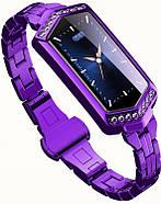 Умный фитнес браслет Finow B78 с цветным дисплеем и тонометром (Фиолетовый), фото 3