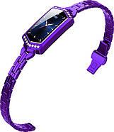 Умный фитнес браслет Finow B78 с цветным дисплеем и тонометром (Фиолетовый), фото 4