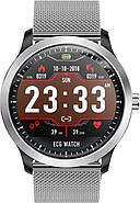 Умные часы Lemfo N58 Metal с измерением давления и ЭКГ (Серебристый), фото 2
