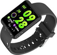 Умные часы Lemfo B08 с измерением артериального давления (Черный), фото 4