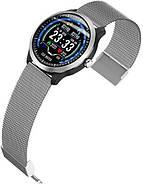 Умные часы Blaze Watch N58 с тонометром и ЭКГ (Серебристый), фото 3