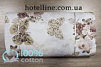 Ткань ранфорс - Mariposa beige бежевый 86485. Турция