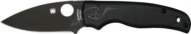 Нож Spyderco Shaman Black Blade