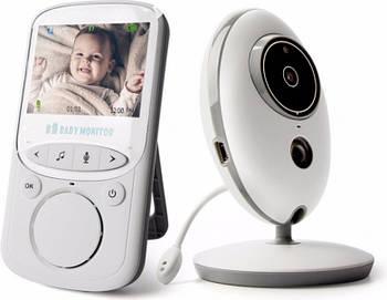IP Camera Baby Monitor VB605 с датчиком температуры (Белый)
