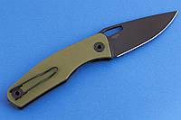 Складной нож TERRA OLIVE GREEN оригинальный, простой и практичен в использовании, фото 1