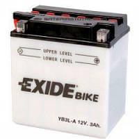 Аккумулятор Exide 12V 3AH/20A (YB3L-A)