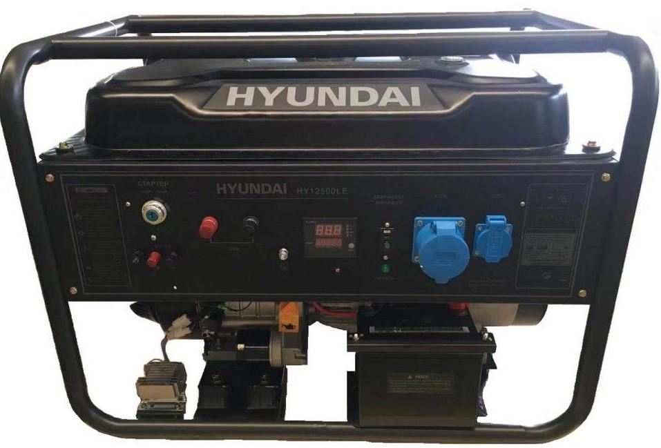 Бензиновый генератор Hyundai HHY 12500LE-3  | БЕСПЛАТНАЯ ДОСТАВКА!