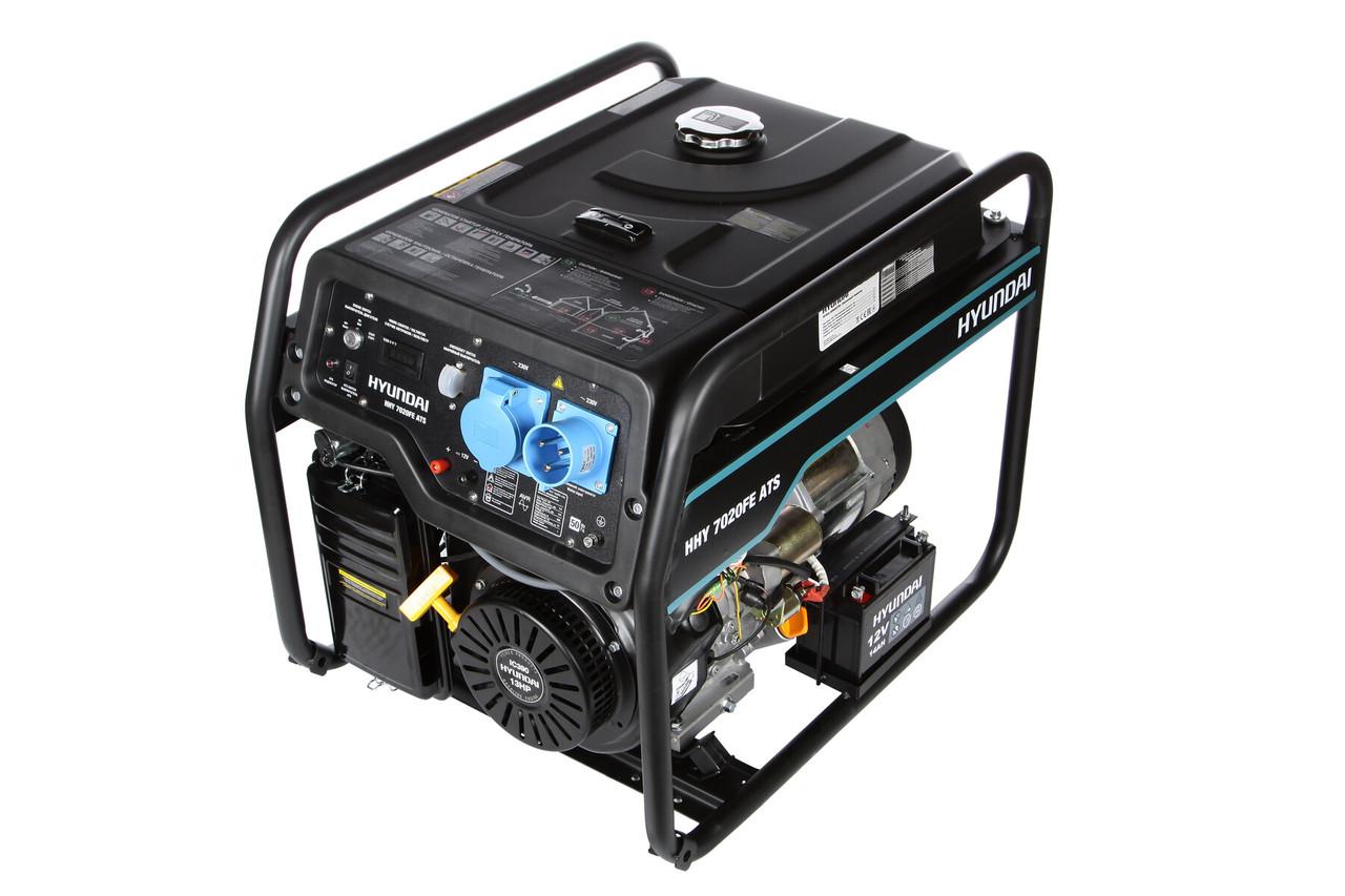 Бензиновый генератор Hyundai HHY 7020FE-ATS  | БЕСПЛАТНАЯ ДОСТАВКА!