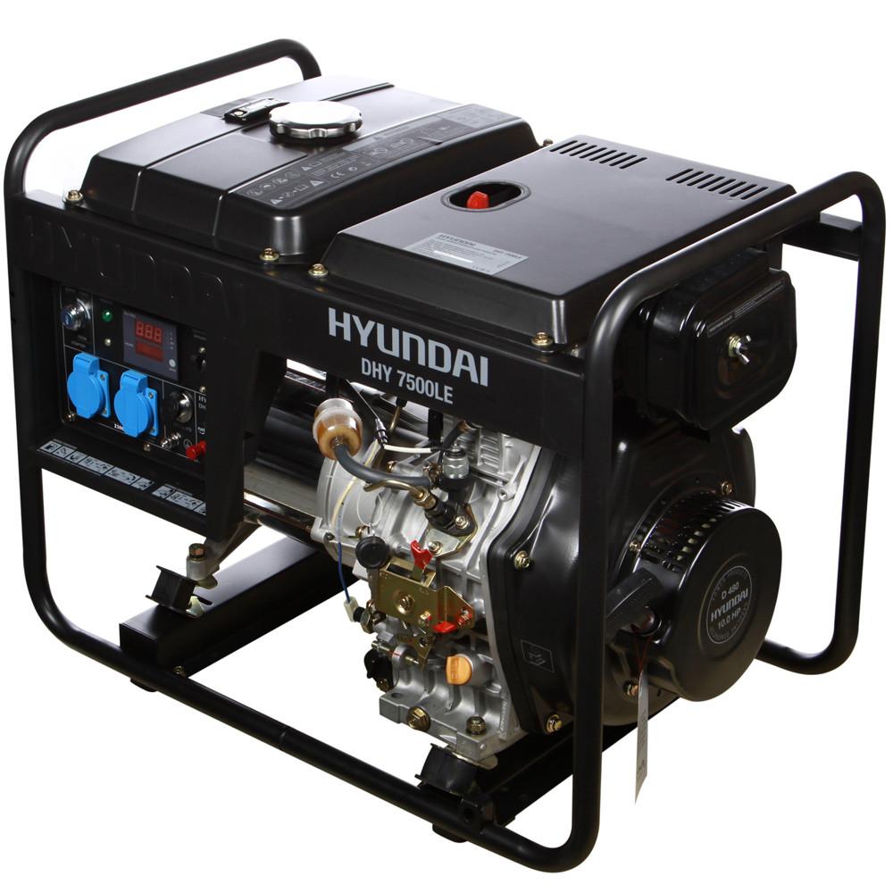Дизельный генератор Hyundai DHY 7500LE  | БЕСПЛАТНАЯ ДОСТАВКА!