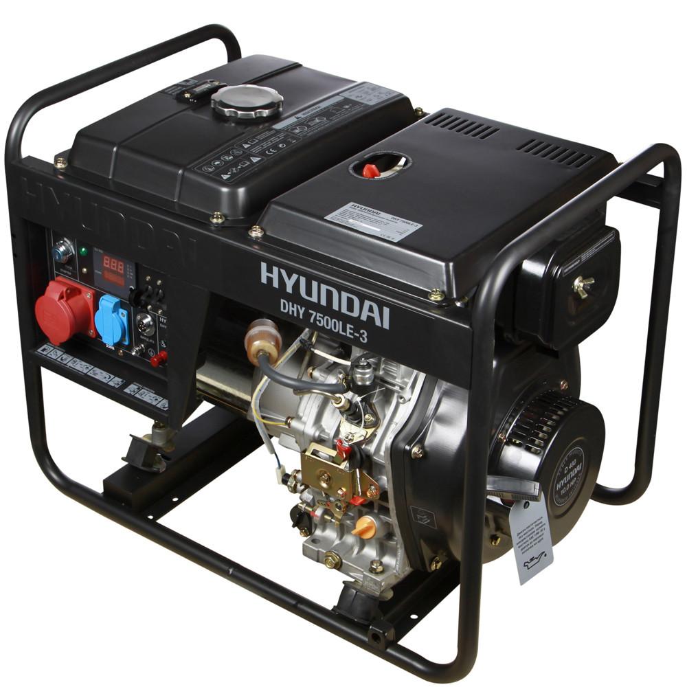 Дизельный генератор Hyundai DHY 7500LE-3  | БЕСПЛАТНАЯ ДОСТАВКА!