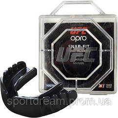 Капа OPRO Snap-Fit UFC Hologram Black (art.002257001)