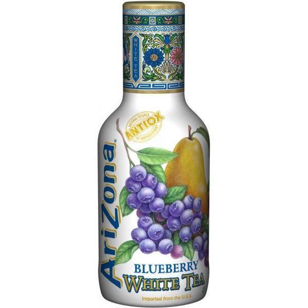 ARIZONA - BLUEBERRY WHITE TEA Черника-груша