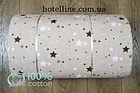 Ткань ранфорс - Galaxy кофе Турция 224478