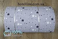 Ткань ранфорс - Galaxy серый Турция 224441