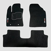 Коврики текстильные ворсовые для Toyota Avensis ІІІ T27 2009 черный
