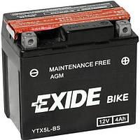 Аккумулятор Exide 12V 4AH/70A (YTX5L-BS)