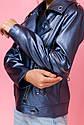 Модная куртка косуха для девочки ТМ Барбаррис vkd-21 Размеры 134 - 164, фото 6