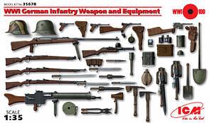 Вооружение и снаряжение Германской пехоты І МВ. 1/35 ICM 35678