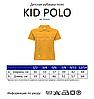 Детская футболка-поло JHK KID POLO цвет черный (BK), фото 4