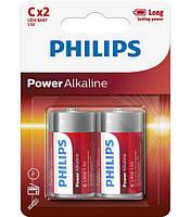 Батарейки PHILIPS LR14 POWER ALKALINE C 1.5V