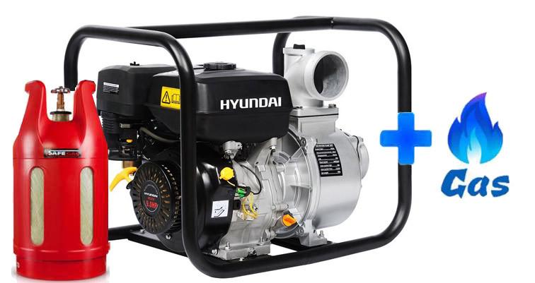 Газовая мотопомпа Hyundai HY 101 LPG  | БЕСПЛАТНАЯ ДОСТАВКА!