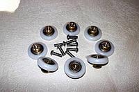 Набор колес для душа с резьбой 4мм /23мм, фото 1