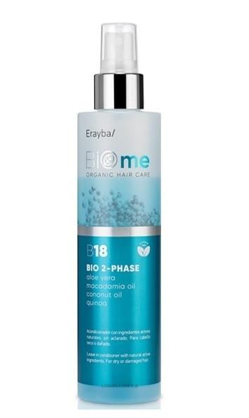 Двухфазный биоспрей Erayba BIO-Me B18 Organic 2-phase Spray
