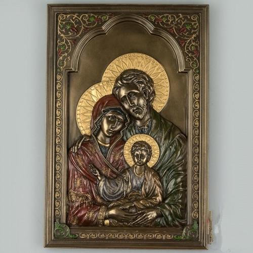 Панно на стену икона Святая семья 23 см 76565