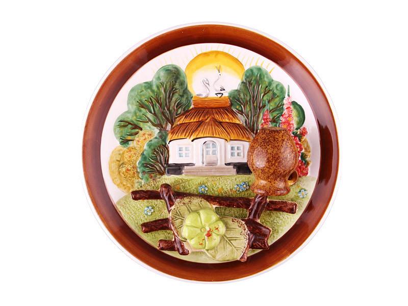 Тарелка декоративная Lefard Домик 21 см 59-486