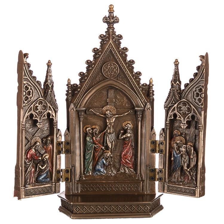 Статуэтка Триптих Veronese 20х10 см 76234A4