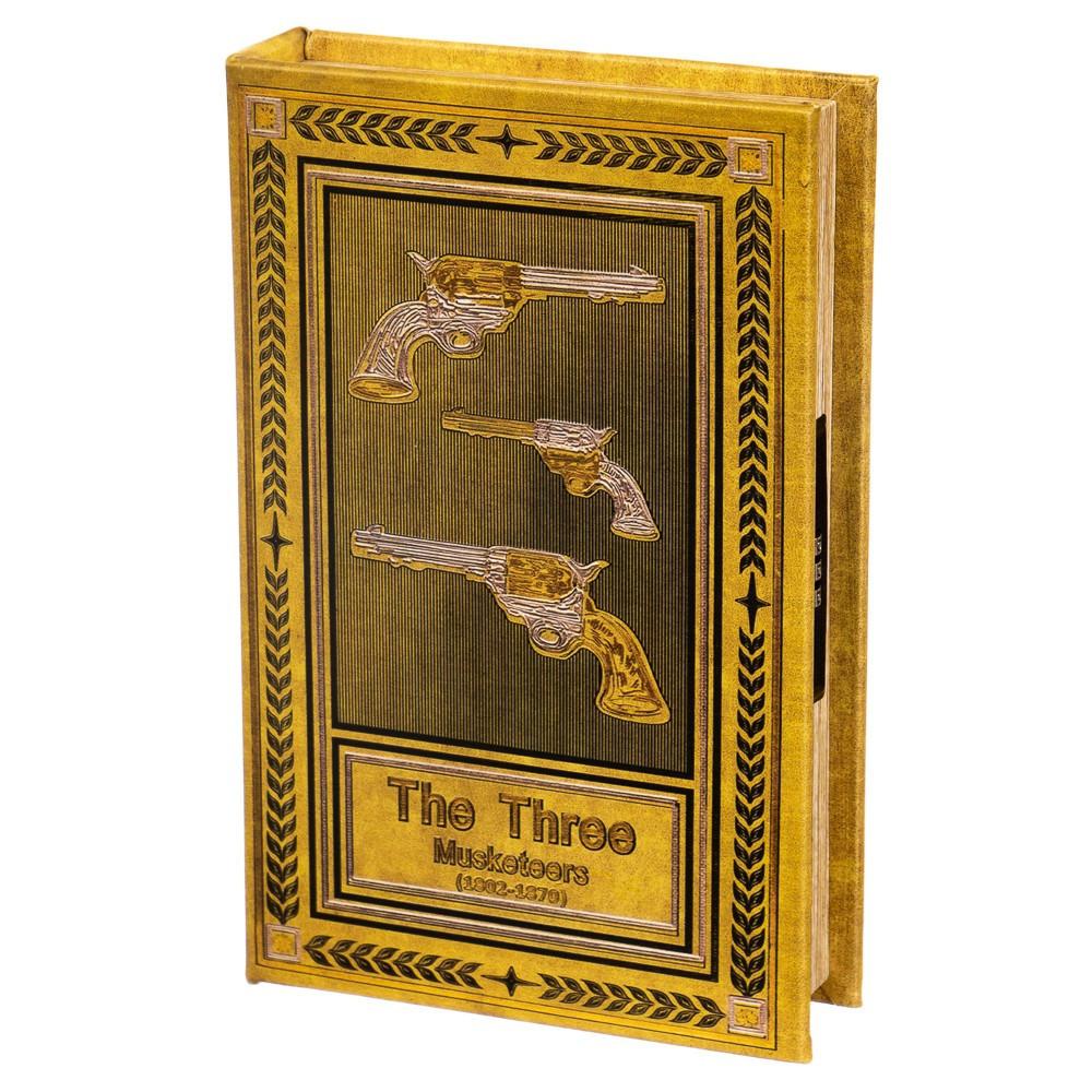 Книга-сейф Veronese Три Мушкетера 26х17х5 см 0001-004
