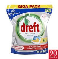 Dreft Platinum Капсулы для мытья посуды в посудомоечной машине  90 капсул.