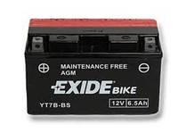 Аккумулятор Exide 12V 6.5AH/85A (YT7B-BS)