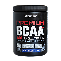 Аминокислоты WEIDER Premium BCAA 8:1:1 GLUTAMINE 500 g Blue-Raspberry
