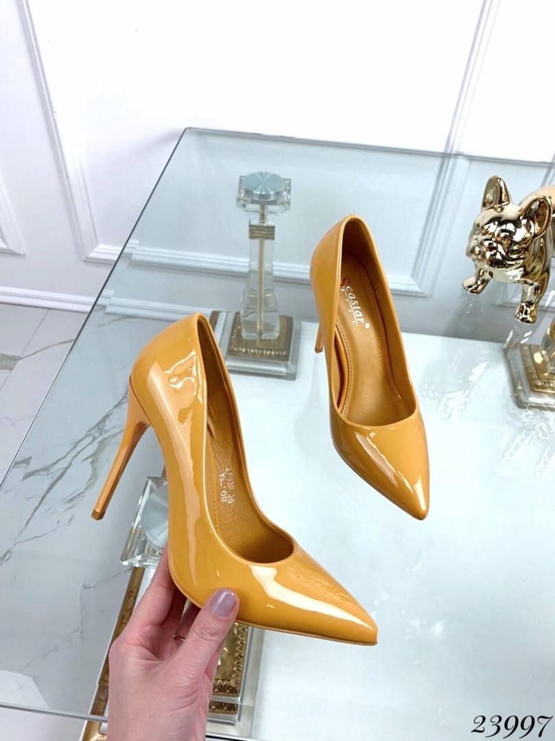 Туфли лодочки Seastar👠. 🔺Цвет: оранжевый 37 размеры