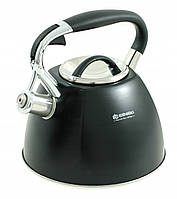 Чайник со свистком Edenberg 3.0 л Черный Edenberg EB-1982, фото 1