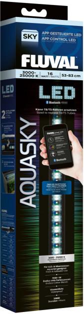 Світильник для акваріума Hagen Fluval AquaSky Bluetooth LED 2.0 21W, 75-105 см
