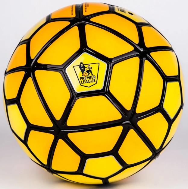 Мяч футбольный PREMIER LIGA желтый реплика