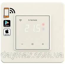 Wi-Fi терморегулятор Terneo sx (слонова кістка)