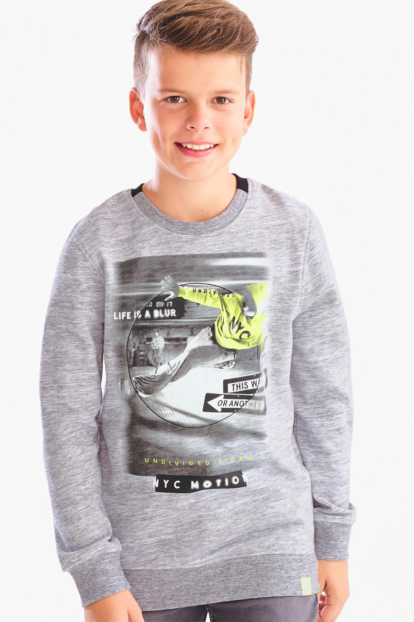 Стильный подростковый свитшот на мальчика C&A Германия Размер 158-164
