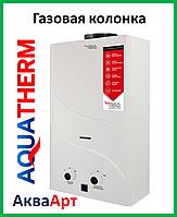 Колонка газовая проточная Aquatherm JSD20-A08 10 л белая