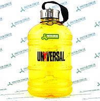 Пляшка Фляга Універсальний UN Gallon Water Bottle Hydrator 1,9 л жовта