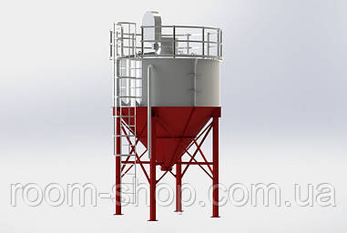 Силосы (емкости для хранения) цемента, зерна, кормов и.т.д. СЦ-10 тонн