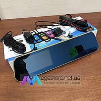 Автомобильный сенсорный видеорегистратор зеркало XPRO DRIVE Touch Vehicle Blackbox DVR с камерой заднего вида